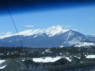 A View Of The Rocky Mountains From My Shuttle
