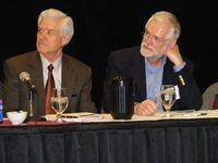 Dr. William Husson, VP Regis University & Dr. Phillip Farley, IBM Academic Initiative (Ret.)